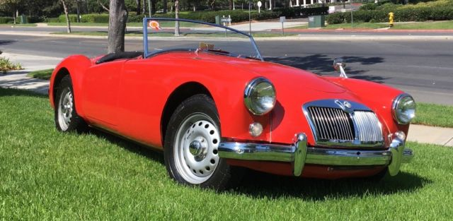 Unrestored Two Owner Mga Twin Cam Roadster