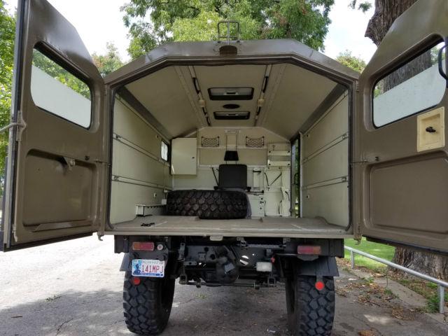Unimog For Sale >> Upgraded 1988 Mercedes Unimog U1300L Ambulance Camper ...