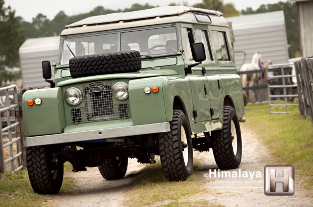 usa restored land rover series lla 109 v8 automatic not defender classic land rover defender. Black Bedroom Furniture Sets. Home Design Ideas