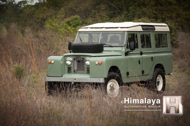 USA Restored Land Rover Series llA 109 V8 Automatic not