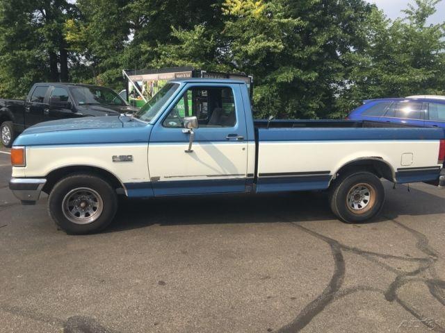 Used 90 Ford F150 Xlt Lariat 4 9l I6 Rwd Pickup Truck Blue
