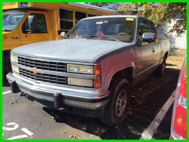 used 92 chevrolet silverado 1500 4 3l v6 auto 4x4 work. Black Bedroom Furniture Sets. Home Design Ideas
