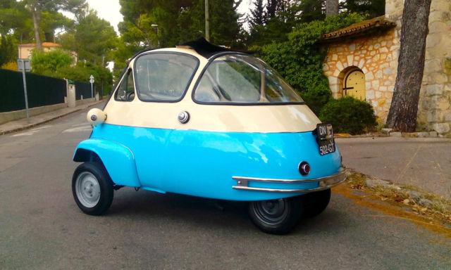 VELAM BMW ISETTA BUBBLE CAR BARN FIND RUST FREE 2 stroke rare ...