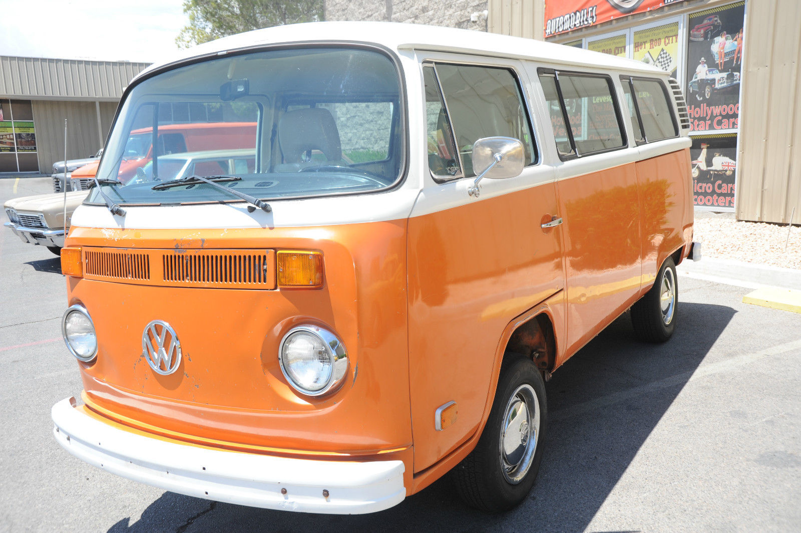 Very Cool And Great Running 1974 Vw Transporter Kombi Bus