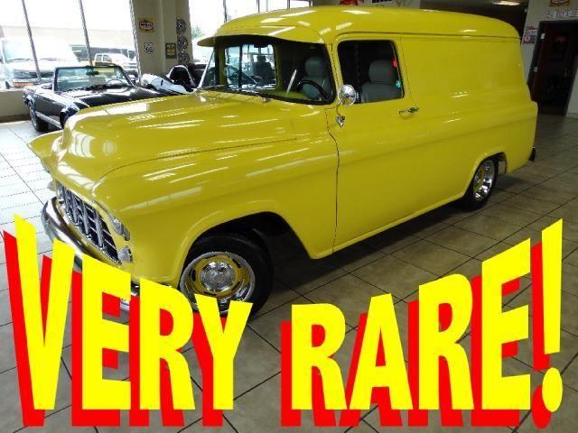 Trucks For Sale In Iowa >> VERY RARE 1956 GMC 1/2 TON PANEL TRUCK ((BIG-BLOCK)) AC FULLY RESTORED 55 56 57 - Classic GMC ...