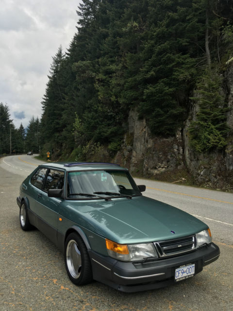 Very Rare 1991 Beryl Green Saab 900 Spg Classic Saab 900