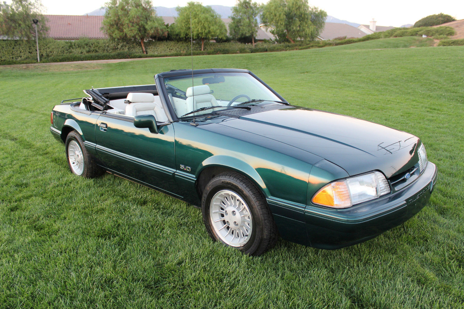 Very rare 5 speed 1990 ford mustang lx 25th anniversay limited