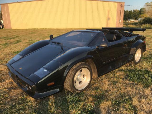 Very Rare Lamborghini Countach Replica Kit Car Cost 000 To Build
