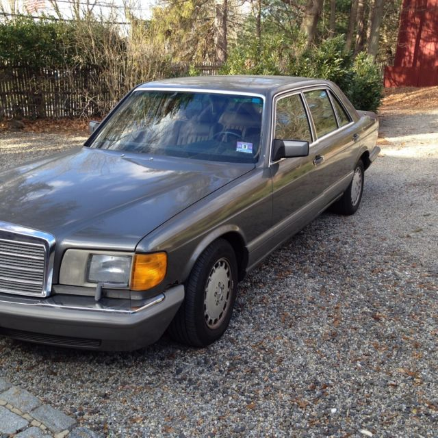 Vintage 1 owner 1986 mercedes benz s class sel 420 last for Mercedes benz s 420