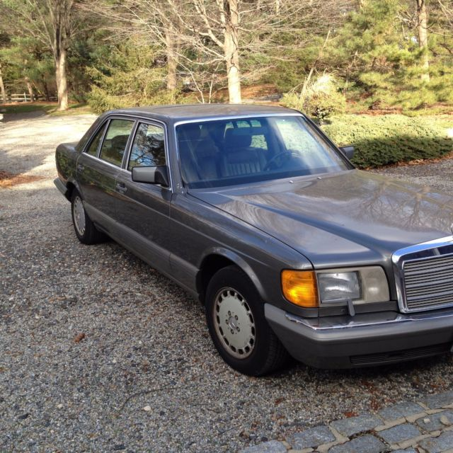 Vintage 1 owner 1986 mercedes benz s class sel 420 last for Mercedes benz owners