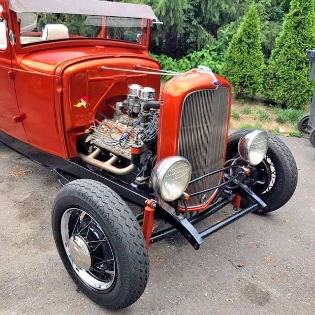 vintage 1930 ford model a sport coupe hot rod chopped project car on 1932 frame classic ford. Black Bedroom Furniture Sets. Home Design Ideas