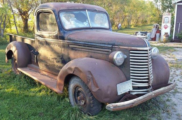 Vintage 1939 Chevy Pickup Shortbox Chevrolet Rat Rod