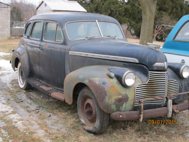 Vintage 1940 4 door chevy sedan classic chevrolet other for 1940 chevrolet 2 door sedan