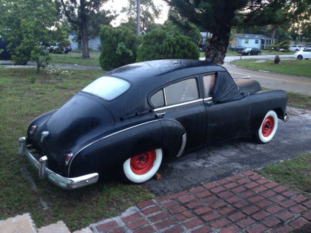 Vintage 1950 Chevy Fleetline Fastback 4 Door 4 Dr Classic