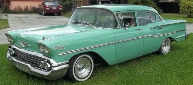 Miami Used Chevrolet >> Vintage 1958 4 Door Chevrolet Delray - New Paint / Interior - SWEET !~! - Classic Chevrolet ...