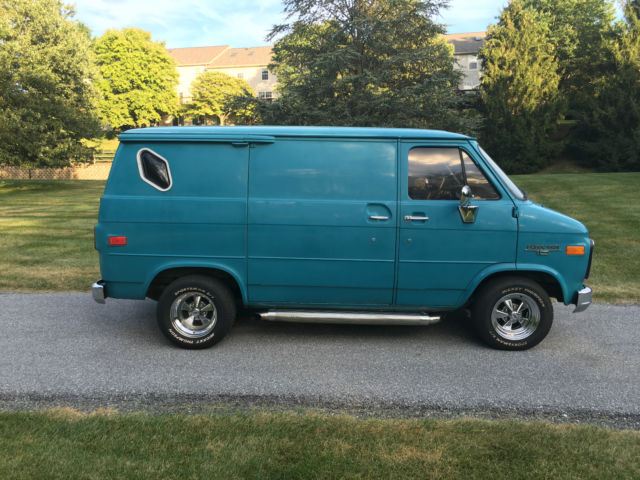 Mercedes West Chester >> Vintage 1989 Chevrolet G10 Shorty California Van Boogie ...