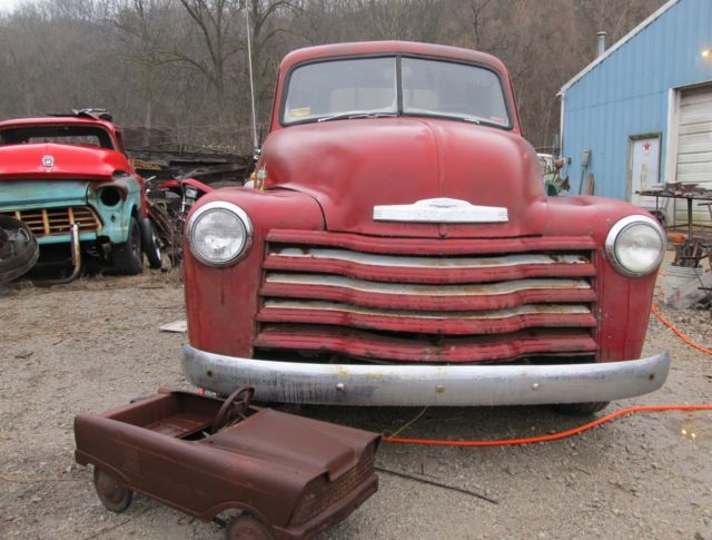 vintage 47 55 gm gmc chevrolet chevy 1950 pick up 3100 classic chevrolet other pickups 1950. Black Bedroom Furniture Sets. Home Design Ideas