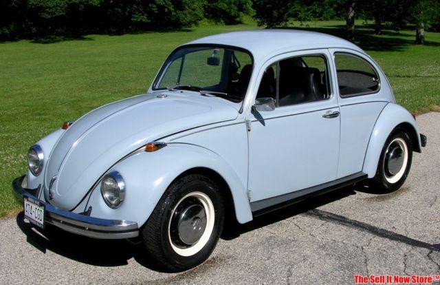 vintage california rust free 1968 volkswagen vw beetle classic survivor classic volkswagen. Black Bedroom Furniture Sets. Home Design Ideas