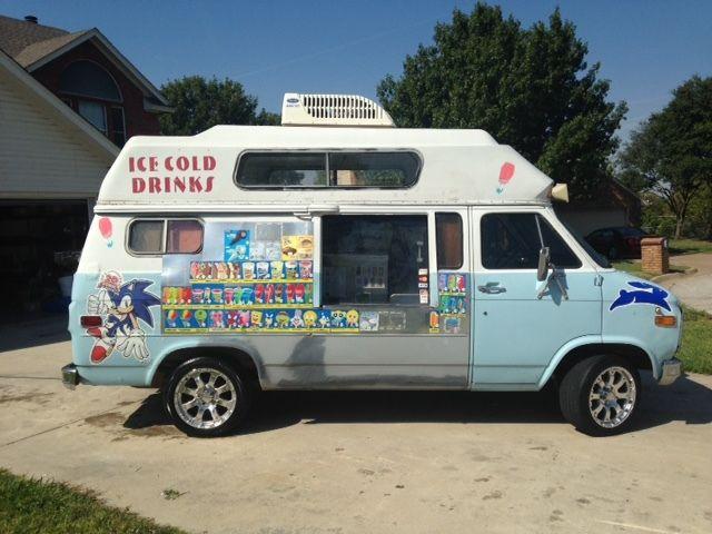 Vintage Ice Cream Truck 1978 Chevrolet G20 Van Nelson Cold ...