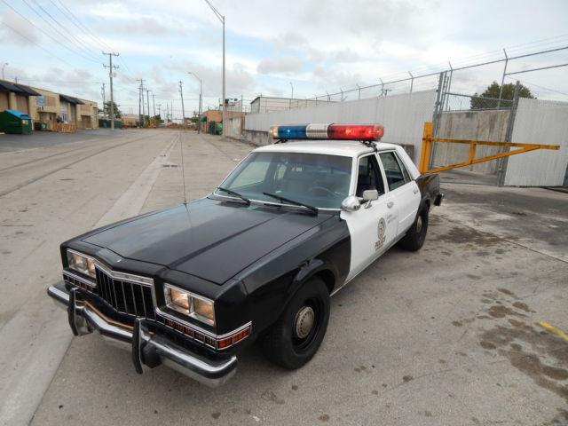 vintage police movie car 1988 ahb diplomat grand fury pursuit pkg mopar squad classic dodge. Black Bedroom Furniture Sets. Home Design Ideas