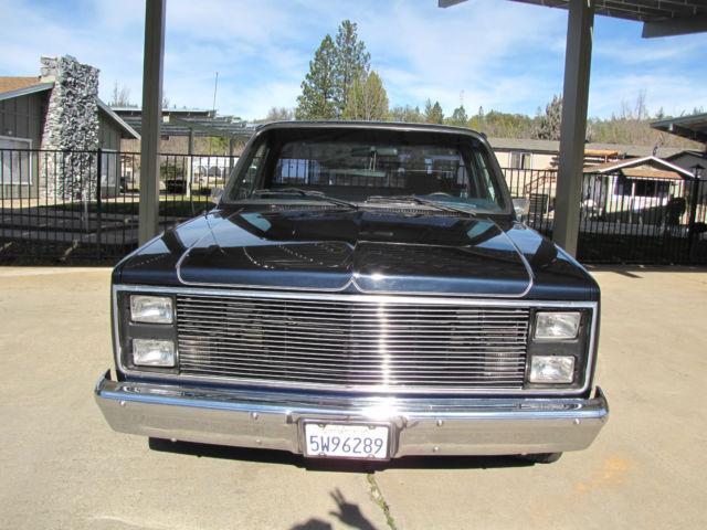 Vintage Rebuilt Chevy C Silverado Ton Short Bed Step Side V Truck