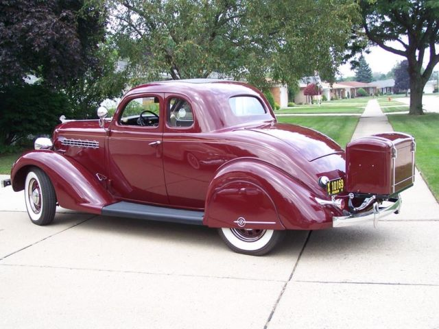 Vintage restored 1935 plymouth rumble seat coupe engine for 1935 plymouth 4 door sedan