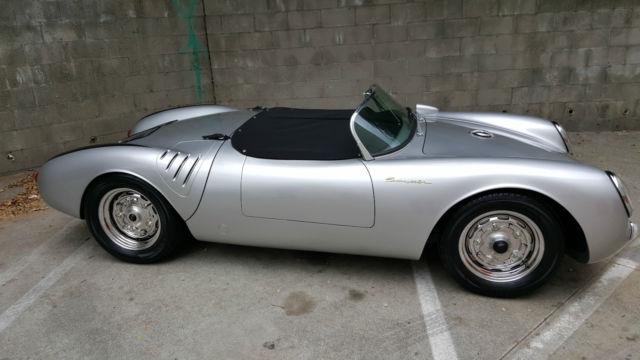 Vintage Spyders 1955 Porsche 550 Spyder Replica New