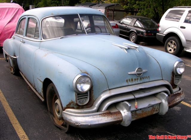 Vintage survivor 1950 50 olds oldsmobile series 76 4 door for 1950 oldsmobile 4 door