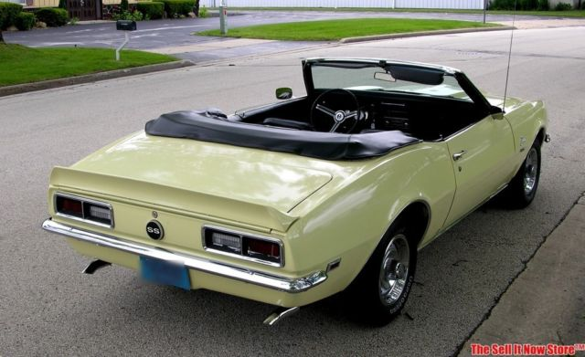 Vintage Survivor 1968 68 Camaro Convertible Ss Tribute