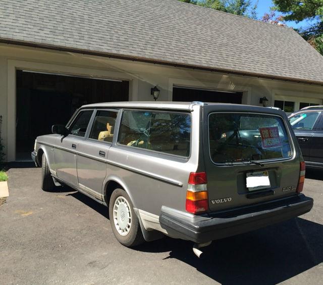 Volvo Of Wellesley >> Volvo : 240 Base Wagon 4-Door - Classic Volvo 240 1988 for sale