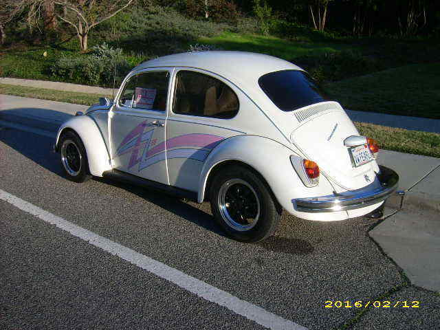 VW 1969 Bug with Factory Sunroof - Classic Volkswagen Beetle