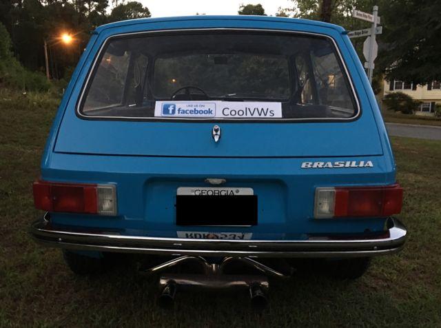 VW 2 door Wagon Very Rare1976 Volkswagen Brasilia restored near perfect - Classic Volkswagen Bus ...
