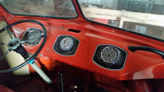 Vw Barndoor 23 Window Deluxe Samba Classic Volkswagen Busvanagon