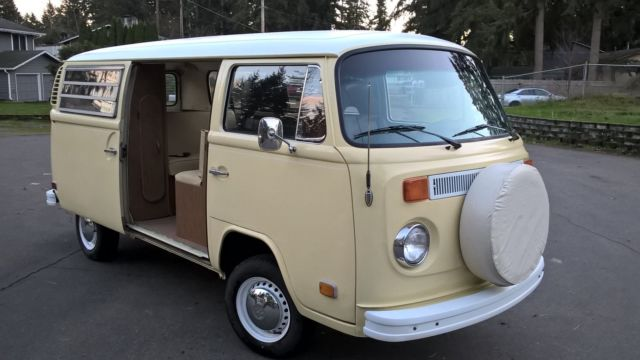 Vw Bus Camper Automatic Very Rare Classic Volkswagen Bus