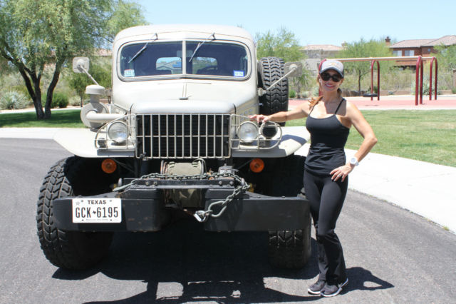 WC 53 CARRYALL VERY RARE - Classic Dodge Power Wagon 1942 ...
