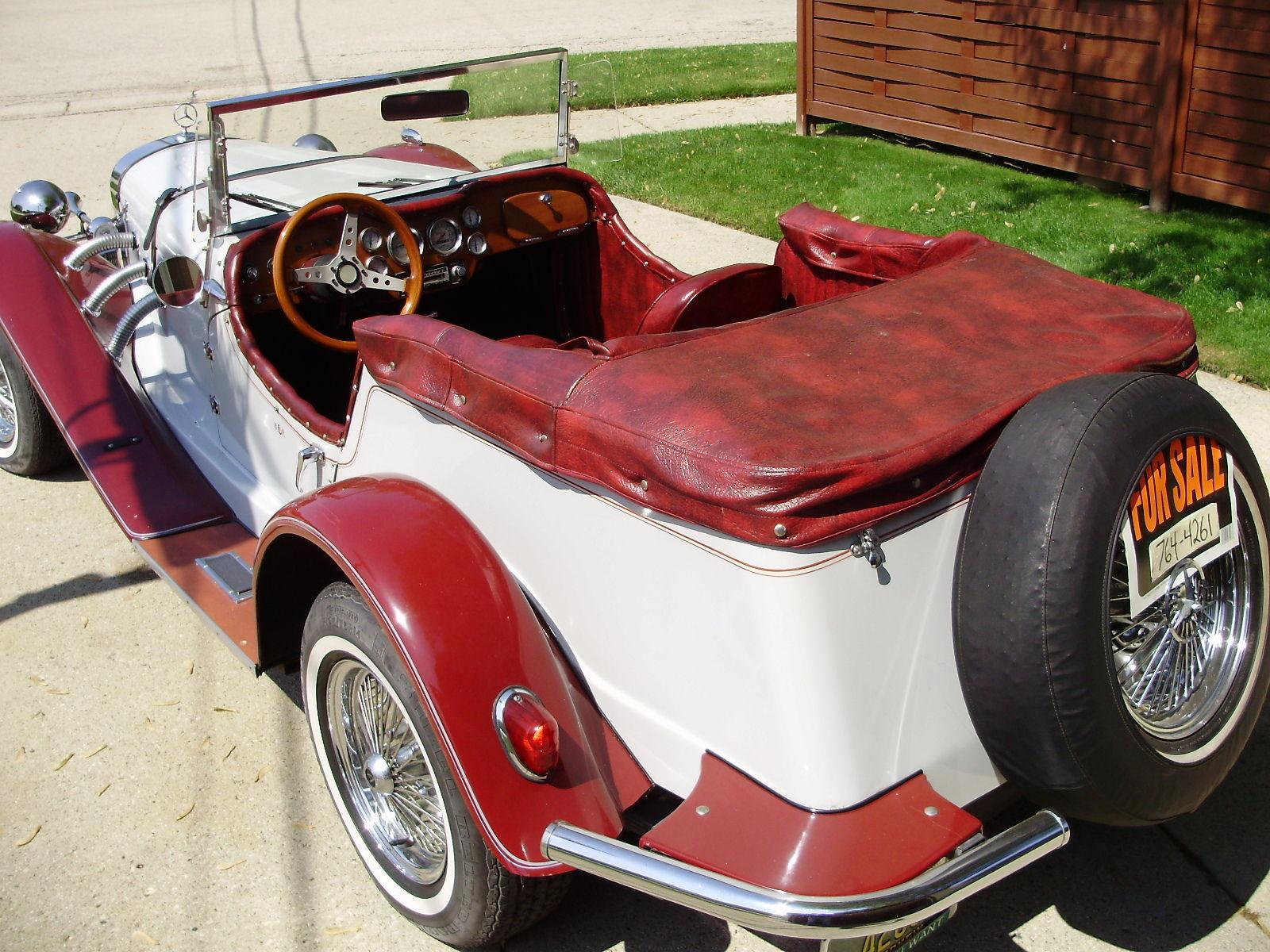 Well Maintained 1929 Mercedes Benz Convertible Gazelle