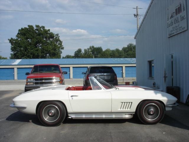 white nice 1967 corvette stingray classic chevrolet corvette 1967 for sale. Black Bedroom Furniture Sets. Home Design Ideas