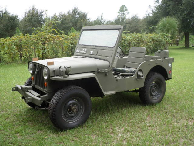 Willys 1951 M38 Military Jeep Classic Jeep Other 1951