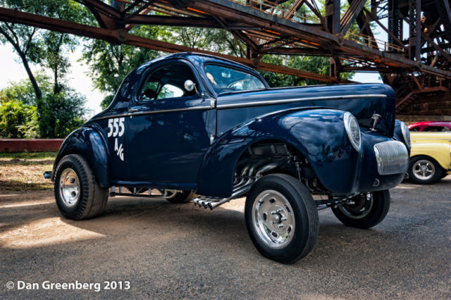 Street Rodder Magazine >> Willys Americar, Gasser, Blue, Coupe, Straight Axle, Race Car, Street Rod - Classic Willys ...