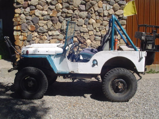 Willys Cj2a 1946 1947 1948 No Title Starts Runs Drives Stops Classic Jeep Cj 1947 For Sale