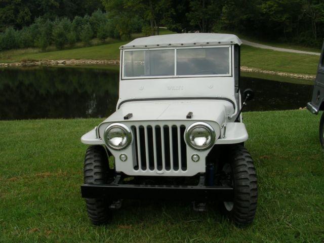 willys cj2a jeep Classic Willys CJ2A 1947 for sale