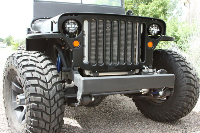 willys custom hotrod jeep 4 3 vortec motor with toyota