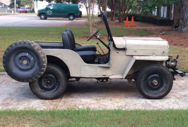 Willys Jeep 1959 Cj3 B High Hood Classic Willys Cj3b 1959 For Sale