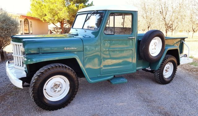 Used Cars Las Cruces >> Willys Jeep 4x4 Pickup Truck 1953 1954 1955 1956 1957 1958