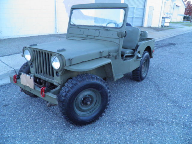 Flat Fender Jeep >> Willys M38 Flat Fender Military Jeep Classic Willys Jeep