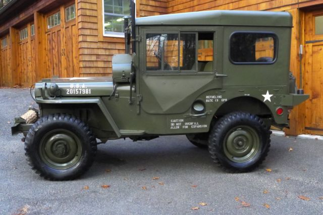 Willys Jeep Truck For Sale >> Willys M38 Jeep - Rare Arctic Package - Korean War - Body off Frame Restoration - Classic Willys ...