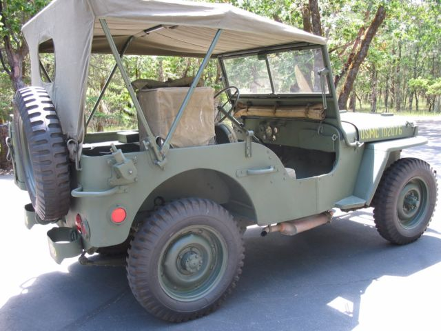 willys mb mz usmc radio jeep world war ii era classic jeep willys mb 1942 for sale. Black Bedroom Furniture Sets. Home Design Ideas