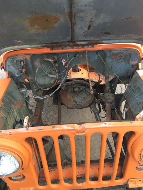 Willys Overland Jeep M M Original Us Army Vintage Antique Rare Oem on 1952 Willys Jeep M38 For Sale