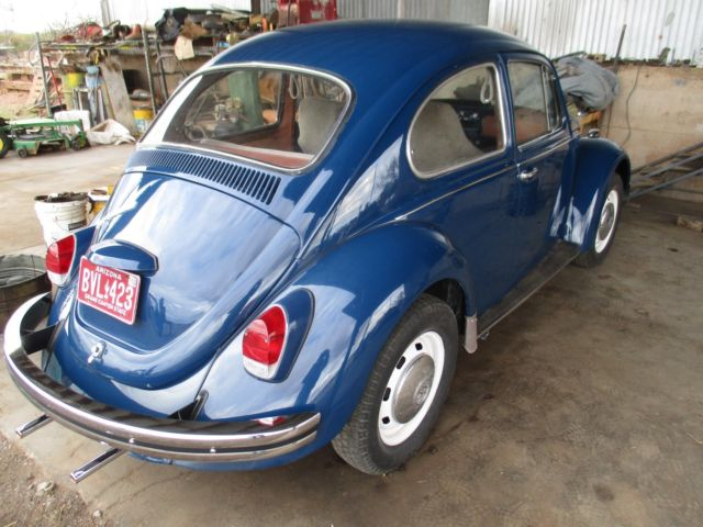 working 1968 volkswagen beetle new paint arizona car lots of new parts great classic. Black Bedroom Furniture Sets. Home Design Ideas