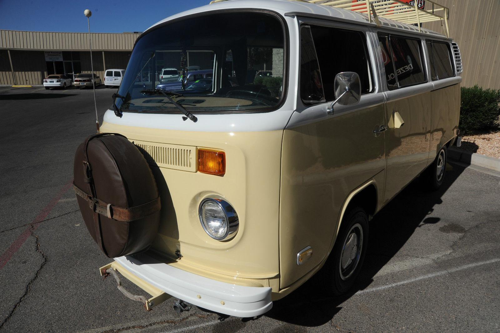 WOW! 1974 VW Kombi Hippie Bus New Paint Nice Interior Runs Great Roof Rack ! - Classic ...